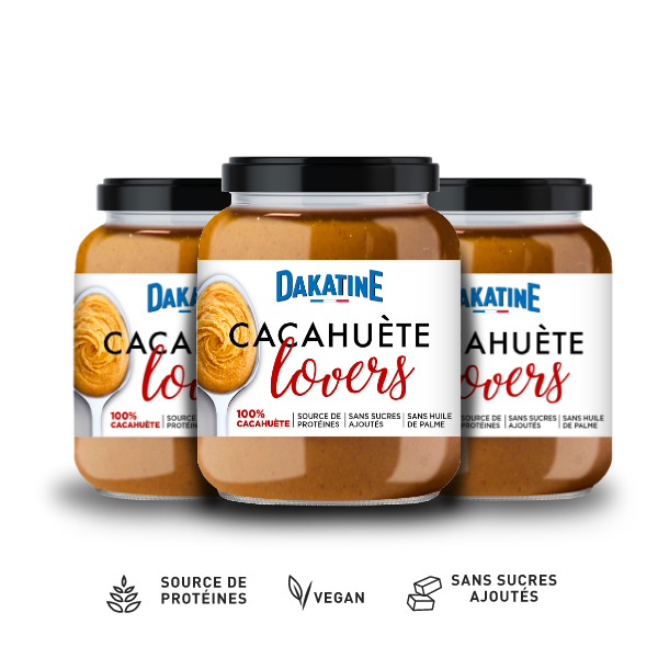Cacahuète Lovers 100% | 3 x 350g