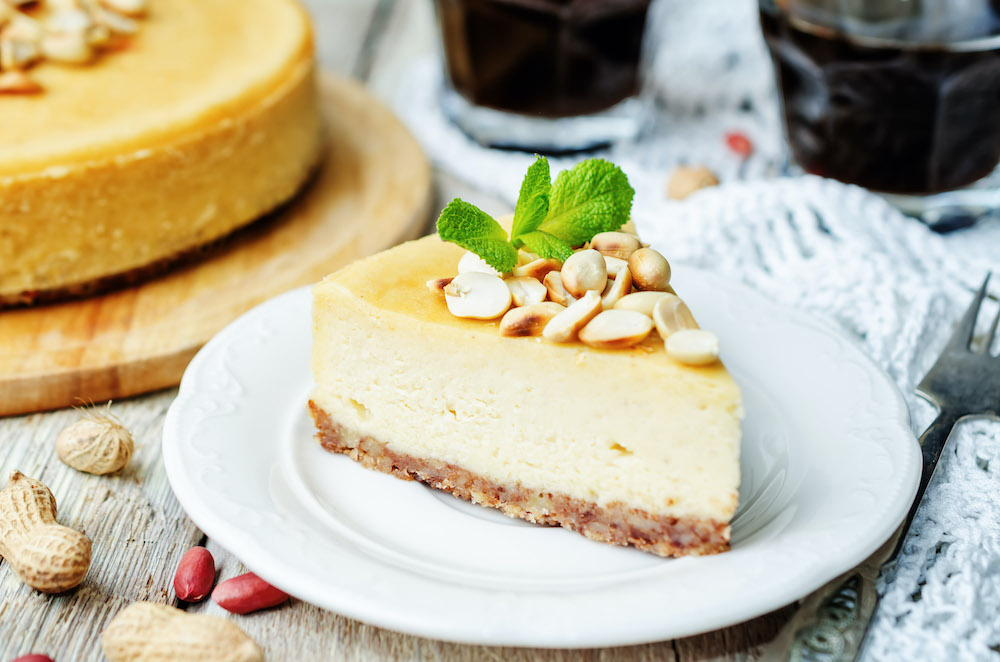 Cheesecake au beurre de cacahuète