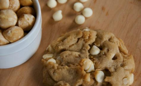 Cookies beurre de cacahuètes et chocolat blanc